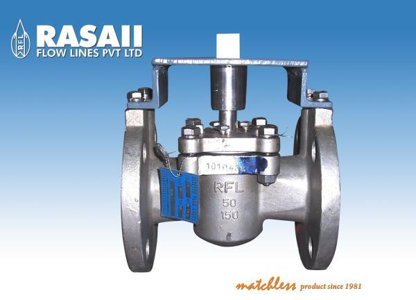 "Rasaii manufactures  Sleeved Plug (Class 150# & 300#) Valves special adapted to the production of Nitric Acid:  •	Nitric Acid (HNO3), also known as Aqua fortis and spirit of          Niter, is a Highly Corrosive Mineral Acid. •	The pure compound is colourless, but older samples tend          to acquire a yellow cast due to decomposition into oxides          of Nitrogen and Water. •	Most commonly available Nitric Acid has a concentrated          of 68% in water. •	When the solution contain more than 86% HNO3, it is           referred to as fuming Nitric Acid. •	Depending on the amount of Nitrogen dioxide present          fuming Nitric Acid or Red fuming Nitric Acid at          concentrations above 95%. •	Nitric Acid is also commonly used as a strong oxidizing          agent.  RFL Supplying ""ARGONITE"" Proprietary Name of XOMOX.  We maintain the same Chemical Composition SLEEVED PLUG VALVES, Supply to Deepak Fertilizer Ltd. and GNFC."