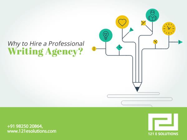 Why to Hire a Professional Writing Agency?