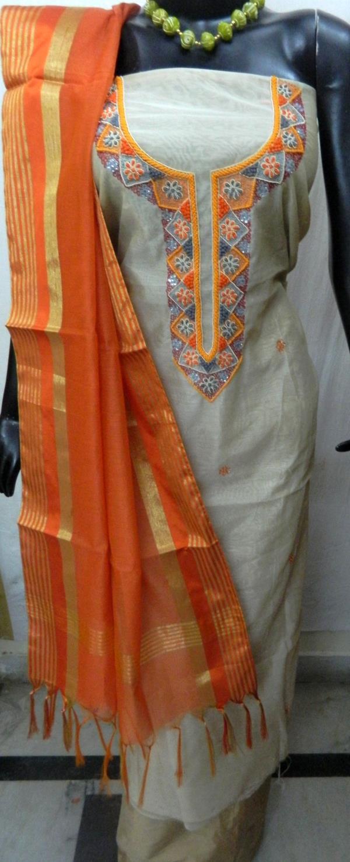 Hand-Beats Unstitched Salwar Suits
