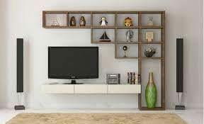 t v display  simple and attractive
