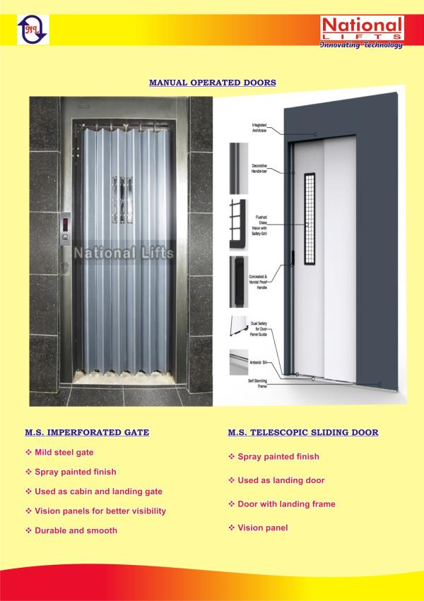 Manual Operated Doors Manufacturers in chennai  We are leading manufacturers of manual operated doors in chennai.