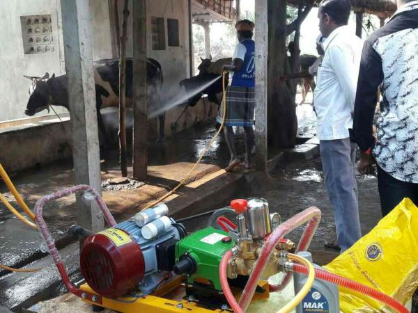 Cow Shed Cleaning Pump Available at Shreem Dairy Equipments in Coimbatore