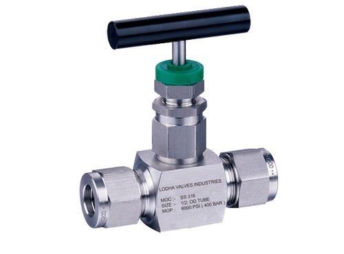 "ValveSpecifications:Type: Screwed Bonnet Needle Valve & Integral BonnetRating: Up to 6, 000 psi @ up to 1200ºF Stem: Needle tip (Standard), Non routing (Optional)Packing: Teflon™ & Grafoil Seat: IntegralSize: 1/8"" to 1""Connections:  Tube EndBody Stock: Bar Stoke & Forged SteelMaterial: SS, CS and other Material on Request"