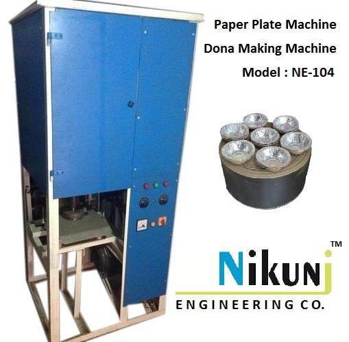 We are Leading Manufacturer Paper plate machine, Dona making machine manufacturer in Ahmedabad.