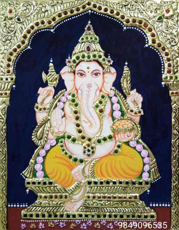 Tanjore painting sales in Hyderabad  Tanjore painting classes in Hyderabad  Tanjore painting images  Tanjore painting ganesh  Tanjore painting  Tanjore painting institution in Hyderabad  Tanjore painting classes