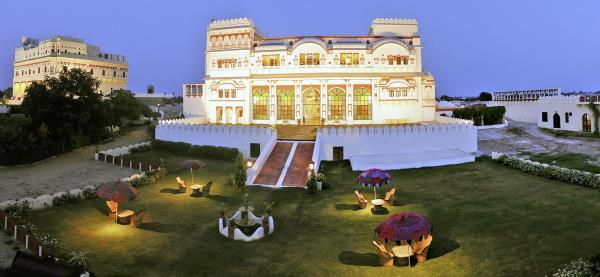 Surjgarh Fort is a great destination for long week end From Delhi. It is situated only 180 km away from New Delhi and offer 22 suites. For package please write to us uholidays@gmail.com or visit www.uniqueholidays.in  The town of Surajgarh in the Shekhawati region of Rajasthan derives its name from the 18th century fortified Palace SURAJGARH. The name literally means