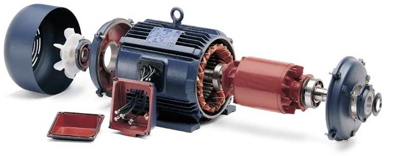 AC Induction Motor - The Workhorse of Industry. Replace your old motors with energy efficient IE3-IE4 motors and earn more profits.