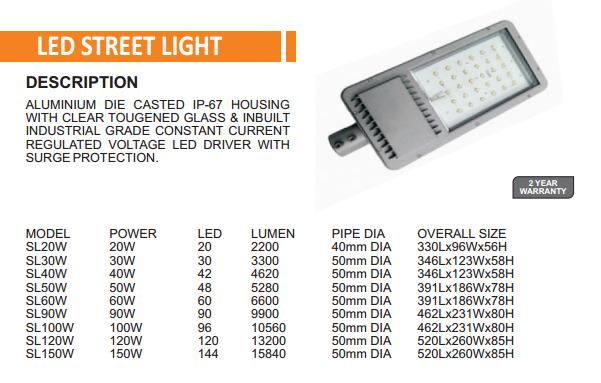 LED Street Light supplier