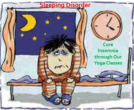Yoga for Insomnia (Sleeping Disorder):  Cure insomnia successfully by joining our yoga classes in bharath nagar, Magadi, Road, Bangalore.