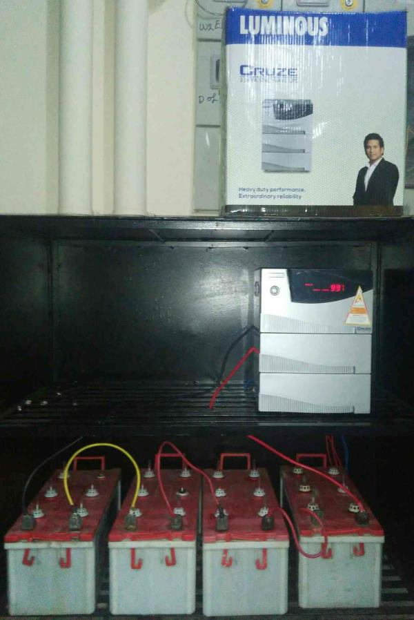 Avighna power solution team from JAYANAGAR 7th BlOCK Installed UPS and Batteries at new Bank called