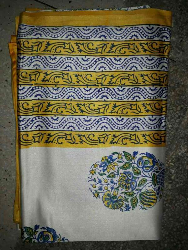 wedding collection of jaipuri hand block bed sheet double in Glaze Cotton 90