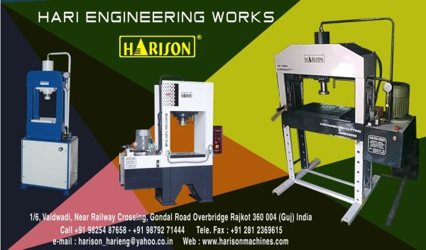 c frame hydraulic press machine : Hari Engineering Works in Rajkot ...