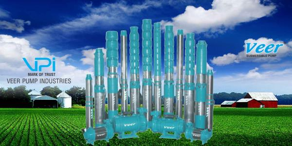 Veer Pumps is leading manufacturers, suppliers and Exporters of submersible pumps such as V3, V4, V6, V8 submersible pump, but that is just a little part of the complete large range of submersible pumps obtainable to our expert dealer. A submersible pump is a machine which has a hermetically sealed motor close-coupled to the pump body. We provide high quality submersible pump are designed by using latest manufacturing technology for high efficiency and are light in weight. Veer pumps is an openwell submersible pump in cast iron construction. These pumps are installed in-ground and are designed to work underwater.  For More Details  Drop your Query Below