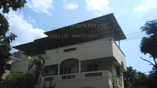 Terrace Roofing In Chennai          We are the best Terrace Roofing In Chennai. Affordable rate with timely delivery. Our Sheds are elegantly structured and sturdily constructed which provide protection to the building very excellently.   This product structure is constructed under the of our experienced professionals during the construction. This is according to the client specification.  we are the best Industrial Roofing In Chennai.