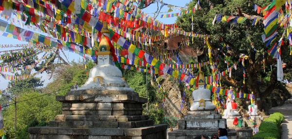 About Swayambhunath in Ne