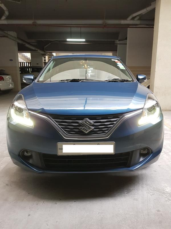 Used Baleno for sale in Hyderabad:  2015 Suzuki Baleno Alpha petrol 25, 500 km done Insurance valid till Oct 2017 Asking price: 7 lakhs  Wheel Deal Top Quality Pre-Owned Cars - by Wheel Deal, Hyderabad
