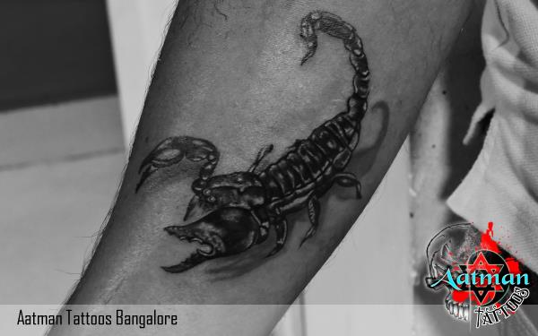 Scorpio tattoo is one of the most demanding zodiac sign tattoo. also get your inked tattoo. we have team of best tattoo artist who always come with amazing concept and design of tattoo. get your first inked tattoo in our tattoo studio. we have more than 50+ colors in tattoo