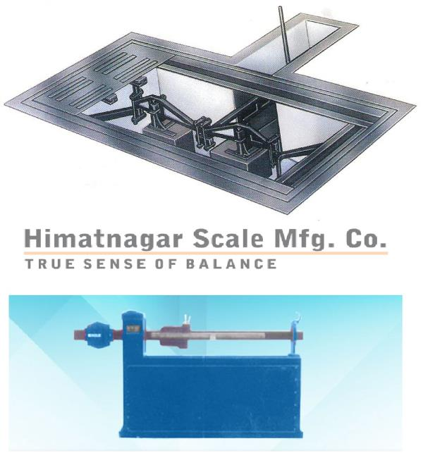 MECHANICAL WEIGHBRIDGE   We HMT are Mechanical Weighbridge manufacturer & have export quality standards as manufactured according to IS 1436-1960 and other reliable IS specifications model approval by O.I.M.L. Weights & Measures Rules (Govt. of India) 3-Lever system, 5-Lever system, 7-Lever system.  Features of Mechanical Weighbridge :  Platform : Constructed of heavy 12mm thick mild steel plates, ribbed with anti skid ribs. Lever System : 3/537 lever system made from IS:2062 Structural Steel. Knife & Edges : Made from Alloy tool steel. Steel Yard :The notches are machine cut & a notch protection bar is provided as also a looking device. Index : The index strip is suitable inclined for easy reading. Strength : Robust in construction with ample safety margin above weighing capacity. Finish : All parts finished with Red oxide and Anti-Corrosive Paints.   We Are In Exporting Of Mechanical Weighbridge Manufacturer In Kenya,  Mechanical Weighbridge Manufacturer In Nigeria,  Mechanical Weighbridge In Qatar,  Mechanical Weighbridge Manufacturer In Tanzania Mechanical Weighbridge Manufacturer In  UAE.