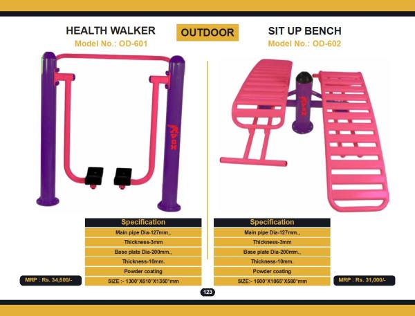 We are leading Manufacturer / Dealer / Distributor / Wholesaler  of Outdoor Gym Equipments, Garden Gym Equipment in Pune, Mumbai, and Maharashtra, India