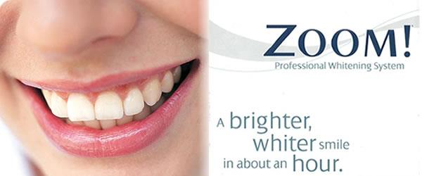 Zoom Whitening Get the Brighter , Whiter Smile in just……….an Hour At Dr . Vora's Dental Clinic.  website www.drvorasdental.com  We specialize in –  	Advanced Teeth Whitening  	Zoom Whitening