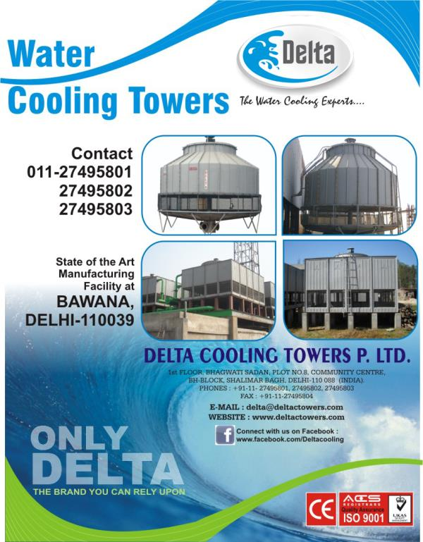 Cooling Tower   Delta Cooling Towers P. Ltd. - A proven technology that promises to deliver significant values to the industry. - by Delta Cooling Towers P. Ltd.  9811156637, New Delhi