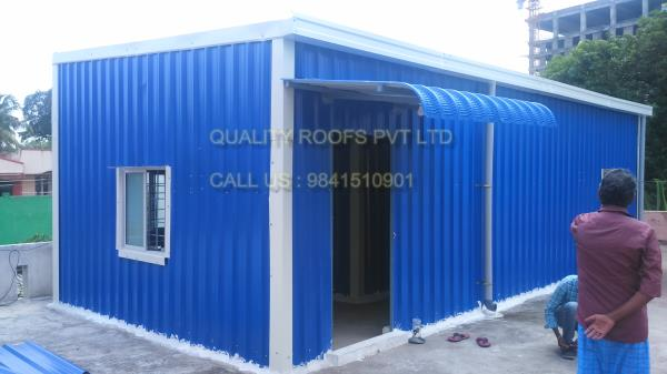 Terrace Roofing In Chennai     We are offered Terrace Roofing In Chennai. Terrace Roofing Shed is mainly designed for the roofing at different commercial, industrial as well as residential sectors. The experts of the industry have produced the entire range as per the customer demands and their choices. It is appreciated for its excellent durability and finish. Most importantly, we are offering it at suitable price to our clients. We are the Best Roofing Services In Chennai.