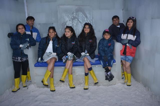 #Snow_Park- a best and most beautiful place in Goa to enjoy with your family or friends with your favourite drink.