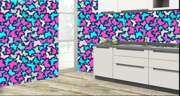 Transmit an eminent look to your your kitchen with these exclusive colorful butterflies kitchen wall tiles. These kitchen tiles will give your kitchen a royal look. The eminent feature about it is that these kitchen tiles are maintenance free and also 100% water proof and heat resistant.   So what are you waiting for, come give your kitchen a new look with these wonderful kitchen tiles!!!  We also customize the design as per your wish and requirement.   We are the only tile dealers in entire Hyderabad to provide you with these new and exclusive customized kitchen tiles.