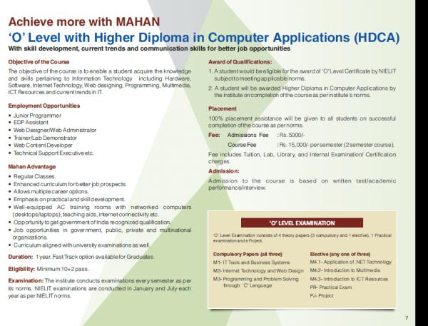 Admissions open for 10+2 Students in Higher Diploma for Computer Applications. http://www.mahaninstitute.in/index.php?itemID=31836#Higher-Diploma-in-Information-Technology - by Mahan Institute of Technologies, NEW DELHI