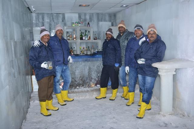 #Ice_Bar in #Snow_Park is not just a bar but a place to be experienced.