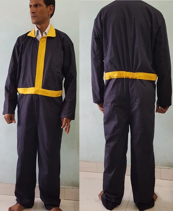 Bharat Petroleum Dungarees Coverall 100% Cotton Drill 240GSM Fast Colour  Optional:  Fire Retardant Water Proof UV Resistant Roth Proof Fungus Proof Anti Microbial   Any Colour Can Be Done - by Chaitanya Impexx, Delhi