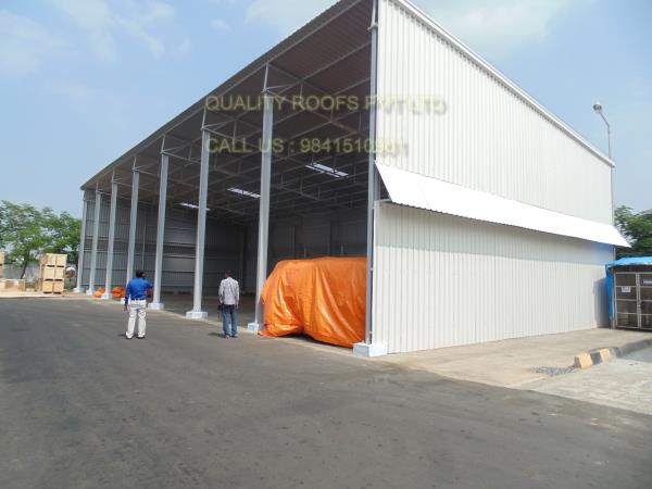 Industrial Roofing In Chennai    We are the best Industrial Roofing In Chennai. We have so many years experiences In The Roofing Field .  These Industrial Roofing Shed can withstand extreme weather conditions and provide complete protection from dust and rain. Besides, we offer these products as per the client's requirements. we are the best Roofing Dealers In Chennai.