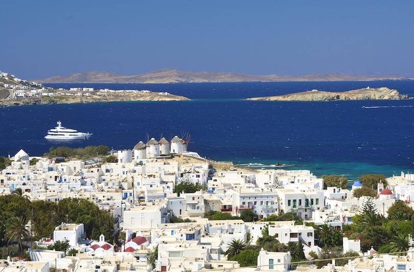 Greece Mykonos town Karavan Holidays 919810060052 in Delhi India