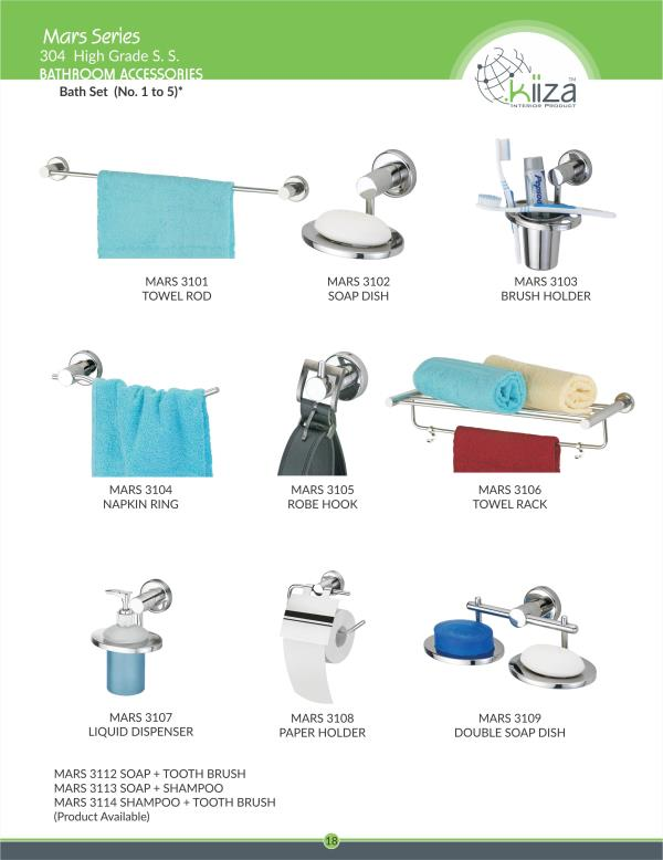 Bathroom Accessories Rajkot ss bathroom accessories : kiiza interior products in rajkot, india