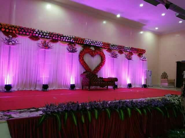 Engagement Wedding Basic Flower Decorations In Bangalore