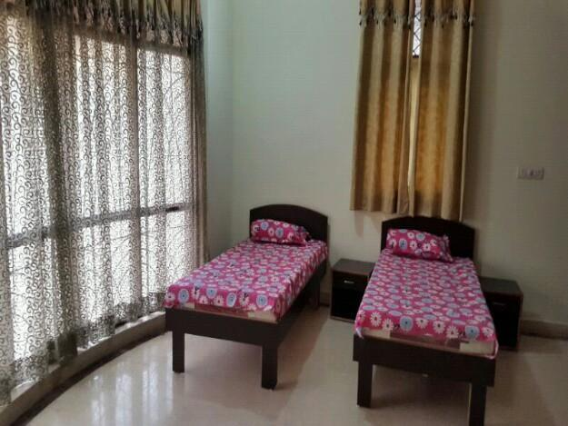 Shree Durga Boys PG deals in PG Accommodation which are Fully Furnished and has a homely environment which is run by a family of revered citizens. We deal in Affordable PG for Boys which have AC as well as Non AC Rooms available at the below prices :- Economy range - 4500 to 5000 per Head per month with meals. Triple sharing - 5000 to 6500 per Head per month with meals. Double sharing - 6500 to 8750 per Head per Month with meals. Single Room - 12000 to 14000 per Month with meals.