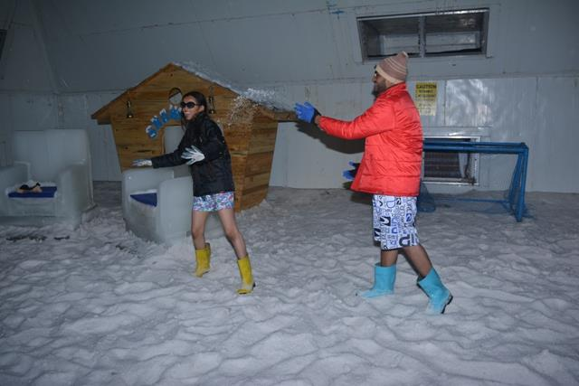 #Snow_Park is place for all session in Goa where fun never ends while playing with #Snow.