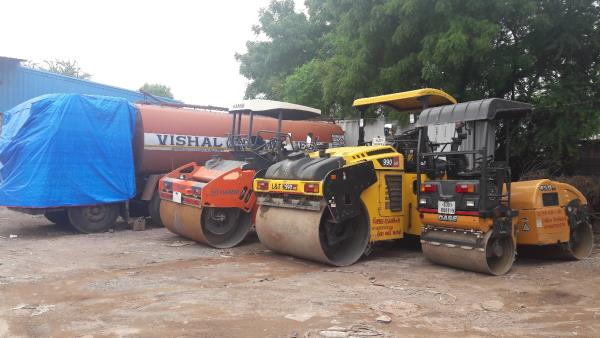 Road Roller available on rent. all types of compaction equipment available on rental basis.  Vishal Thakkar  +91 9825150574