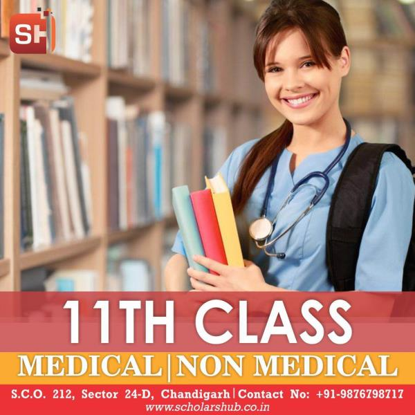 Scholars Hub is one of the best institute of Medical and Non Medical Coaching in Chandigarh. We have highly qualified and renowned faculty for all the subjects - Physics Chemistry Biology and Maths. We have different batches for CBSE and Competition. Special Focus is given on JEE and NEET. Your Child's best result is assured at Scholars Hub. Do visit us and take Free Demo Classes.