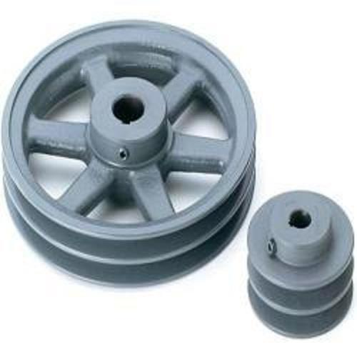 Hollow type and solid type cast iron v pulley Manufacturers in chennai.