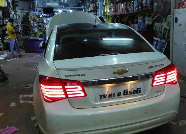 Cruze danger light fitted in leo auto accessories led light