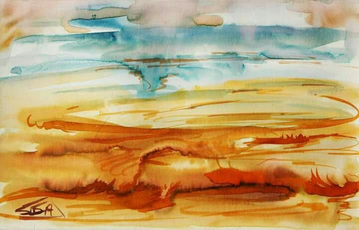 Buy Water Colour Painting l Uchaan Art Gallery I Gurgaon