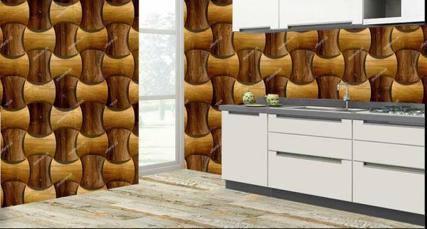 Smarten the walls of your kitchen with this marvellous 3D customized kitchen wall tiles. These kitchen tiles can be used to decorate the walls of your kitchen. These 3D kitchen tiles will give an exclusive look to your kitchen. The best feature about these kitchen tiles is that they are super easy to clean and are 100% water proof and heat resistant.   We are the only Tile Dealers who can customize the design of the tiles as per your wish and requirement.   We are the only Tile Dealers in entire Hyderabad to provide you with these new and excellent 3D kitchen tiles.