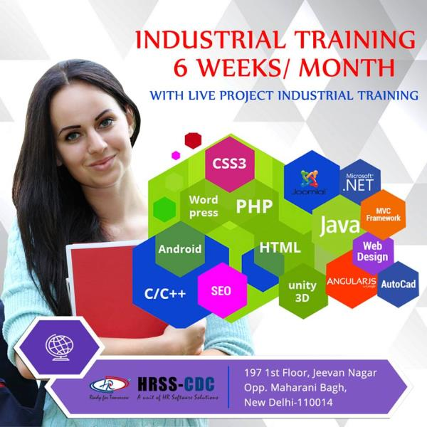 HRSS-CDC(H.R. Software Solutions Pvt. Ltd. Career Development Centre) is a prominent part of H. R. Software Solutions Pvt. Ltd.  which is very proficient and one of the leading and largest business empires in India. It is the sister concern company of H.R. Group of Companies.   With high class, experience and expertise trainers who are dedicated to serve to the diverse learning needs of our candidates. We feel heartily proud to announce that H. R. Software Solutions Pvt. Ltd. have laid the deep rooted foundation of our HRSS-CDC after pioneering the different prime areas of business. WHAT MAKES US DIFFERENT? 	Live projects are done on actual workstation in S/W companies 	Monitor and guidance by senior S/W Developer 	Class with experienced IT Consultant 	Modern infrastructure with latest technology 	Grooming student as per current corporate culture 	Experience letter by HRSS-CDC Courses Offered- 	C/C++ Curriculum 	Software Testing Curriculum 	Basic Course of .Net 	Advance Course of .Net 	Oracle Course Curriculum 	SQL  Server Curriculum 	Core JAVA 	Advance JAVA 	PHP Basic 	PHP and MySQL 	Open Source 	Enterprise resource Planning 	Android Curriculum 	HR ERP Curriculum Our advanced, rigorous IT Training program gives you the outstanding industry skills and experience to help you to get the dream that you have always wanted.  For More information, Call @ 9350905070 https://www.hrsoftwaresolution.com/cdc