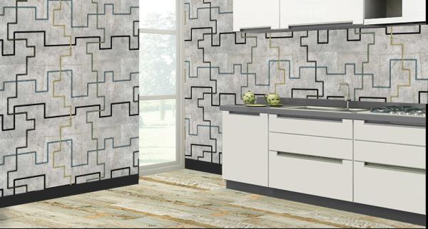 Enhance the walls of your kitchen with this superb 3D customized Kitchen Wall Tiles. These Kitchen Tiles can be used to decorate the walls of your kitchen. These 3D Kitchen Tiles will give an elegant look to your kitchen. The best feature about these kitchen tiles is that they are super easy to clean and are 100% water proof and heat resistant.   We are the only Vitrified Tile Dealers who can customize the design of the tiles as per your wish and requirement.   We are the only Vitrified Tile Dealers in entire Hyderabad to provide you with these new and excellent 3D kitchen tiles.
