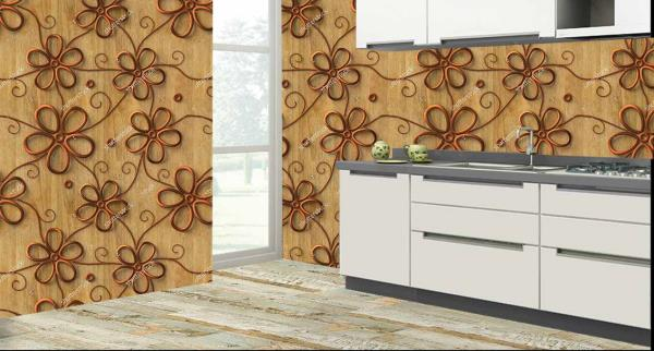 Style the walls of your kitchen with this superb 3D customized Kitchen Wall Tiles. These Kitchen Tiles can be used to decorate the walls of your kitchen. These 3D Kitchen Tiles will give a smart look to your kitchen. The best feature about these Kitchen Tiles is that they are super easy to clean and are 100% water proof and heat resistant.   We are the only Vitrified Tile Dealers who can customize the design of the tiles as per your wish and requirement.   We are the only Vitrified Tile Dealers in entire Hyderabad to provide you with these new and excellent 3D Kitchen Tiles.