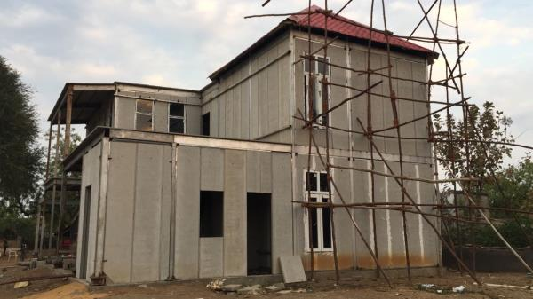 PRE FABRICATED WALL PANELS - INTRA Precast Wall panels & precast compound walls helps save time and energy on building house, apartments and commercial etc.