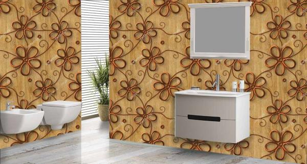 Embellish the walls of your bathroom with these marvellous 3D customized Bathroom Wall Tiles. These Bathroom Tiles can be used to decorate the walls of your bathroom. These 3D Bathroom Tiles will give - by Mannmohh, Hyderabad