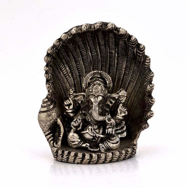 Buy White Metal Antique Lord Ganesha on Naag Idol Online in Ahmedabad  This handcrafted antique idol of Lord Ganesha sitting on naag is made of pure white metal. The idol is silver polished to give it alluring antique look. It is also an ideal gift for your friends and relatives. The gift piece has been prepared by the creative artisans of Jaipur.  Click on the below link to view the product:  http://littleindia.co.in/white-metal-antique-lord-ganesha-on-naag-idol-310/p407  We are Jaipur (Rajasthan) based prominent Manufacturer and Wholesaler of Lord Ganesha On Naag Brass Statue. We Export Brass Lord Ganesha Moorti all Over the World on affordable prices. We are engaged in providing Finest Quality White Metal Ganesha Statue On Naag. We have wide range of Value for Money Ganesha On Naag White Metal Pooja Idol. This White Metal Ganesha On Naag Handicraft Idol is prepared by village Craftsman and woman of Rajasthan. Visit our Jaipur factory outlet for Comprehensive Range Of Decorative Items.