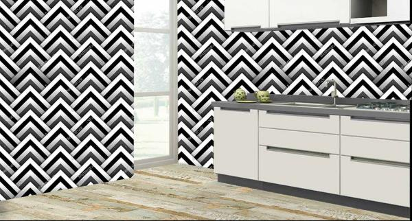 Enrich the walls of your kitchen with this superb 3D customized Kitchen Wall Tiles. These Kitchen Tiles can be used to decorate the walls of your kitchen. These 3D Kitchen Tiles will give a classic lo - by Mannmohh, Hyderabad